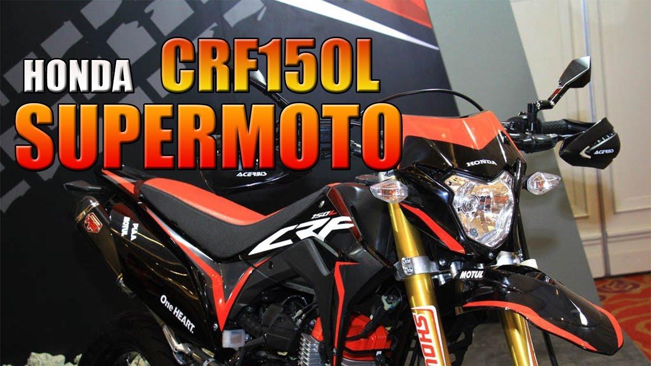 Keren Bro Modifikasi Honda CRF150L Supermoto YouTube