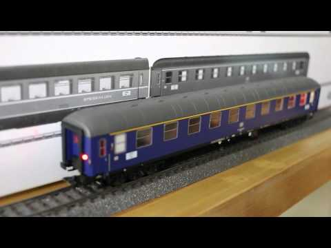 ESU passenger car interior lighting kit