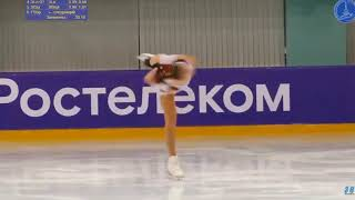 Анастасия Тараканова 5 этап Кубка России 2019 Короткая программа