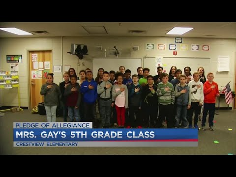 Mrs. Gay's 5th Grade Class At Crestview Elementary.