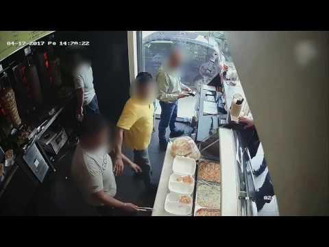 Atak na bar z kebabem w  Łódź