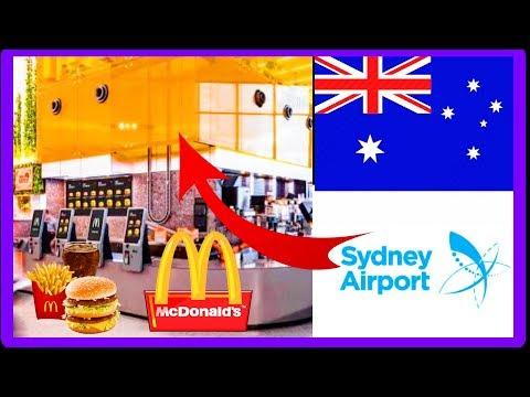 Aeropuerto De Sydney, Australia McDonald's