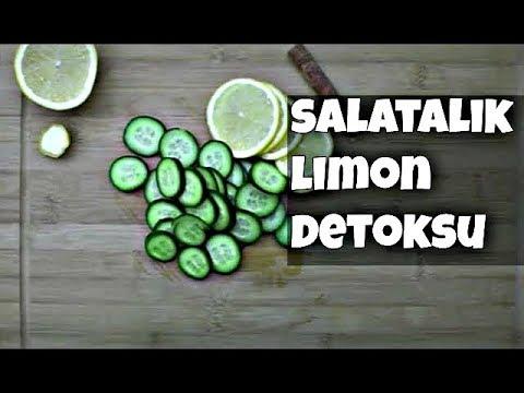 incelten tarifler - salatalık limon detoksu/ Cucumber & Lemon Detoks