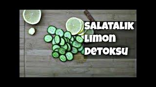 incelten tarifler - salatalık limon detoksu  / Cucumber & Lemon Detoks