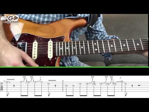 Blues Deluxe Intro -Joe Bonamassa -Guitar Lesson