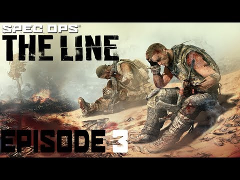 OvoCephalon Plays Spec Ops: The Line - Episode 3 [Peaceful Dialogue]