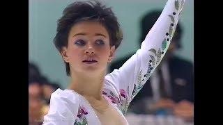 Julia Vorobieva / Юлия Воробьёва / ユリア・ボロビエワ 1991 NHK Trop...