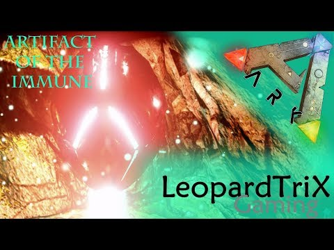 Ark Survival Evolved | Artifact of the Immune + Loot Crates | Swamp Cave Solo