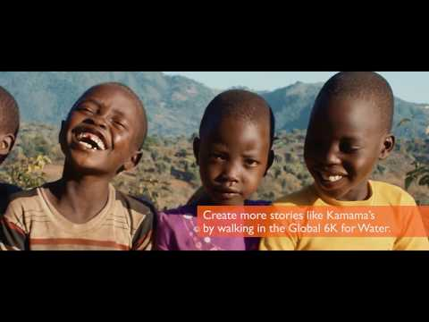 Kamama's Journey Global 6K for Water World Vision Canada