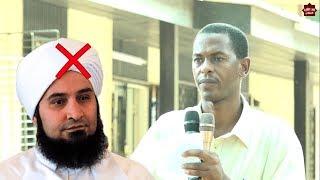 أضحك مع الداعية شهاب عوض / وهو يحاكي الكذاب الصوفي الجفري وسند العمامة المتصل