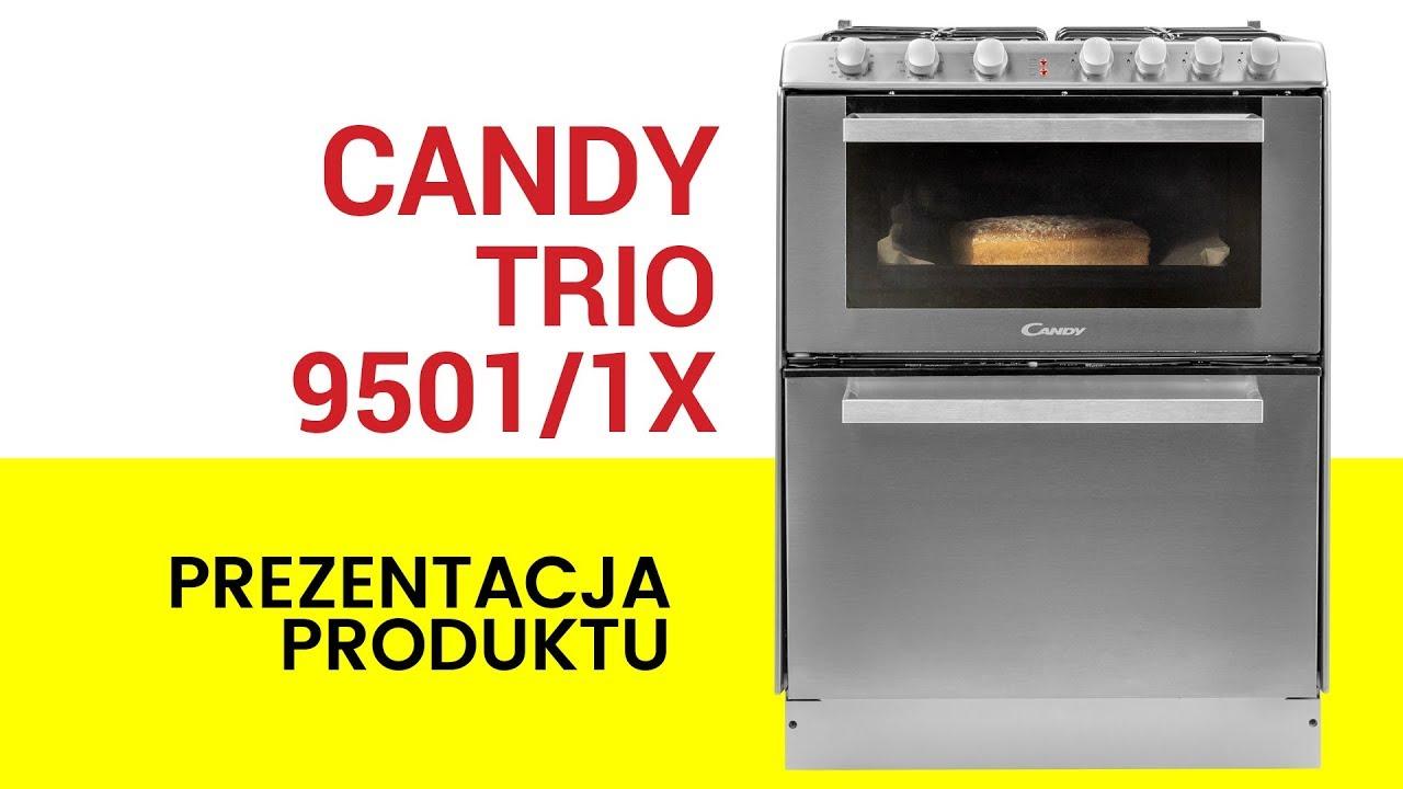 Kuchnia Gazowa Ze Zmywarką Candy Trio 95011x