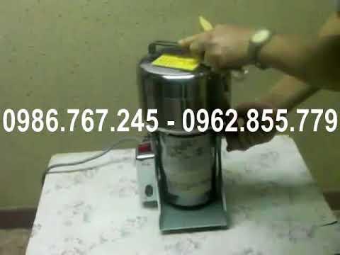 Máy xay bột nghệ, máy xay tiêu, máy xay bột khô, máy xay bột trẻ em theo mẻ, máy xay bột khô - YouTube