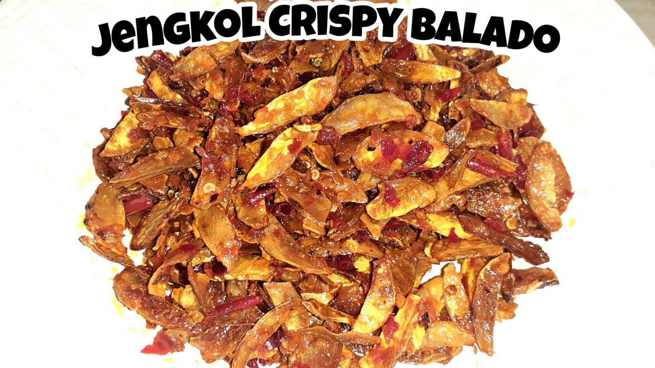 Resep Jengkol Crispy Balado Masakan Nusantara Youtube