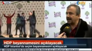 Sırrı Süreyya Önder NTV canlı yayında NTV ye çaktı, geçti..