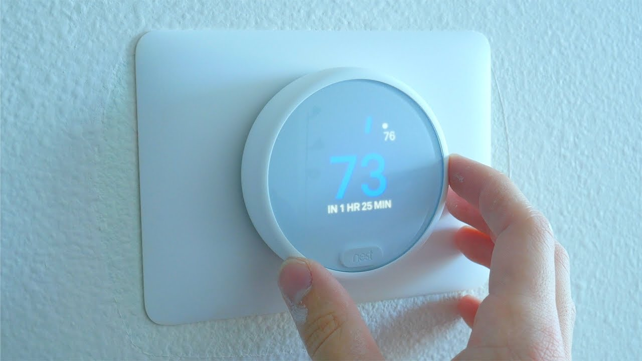 Nest Thermostat E Install Overview Easier Than I Thought Youtube