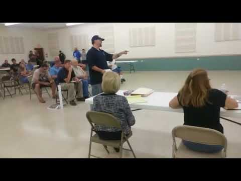 Nomen Nescio addresses the North Liberty town council 8/6/2018