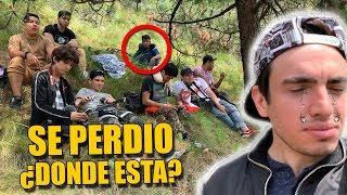 ACAMPANDO CON YOUTUBERS EN EL BOSQUE | NOS PERDIMOS