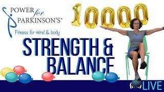 Power for Parkinson's Thursday Strength & Balance - Live Streaming Day 173