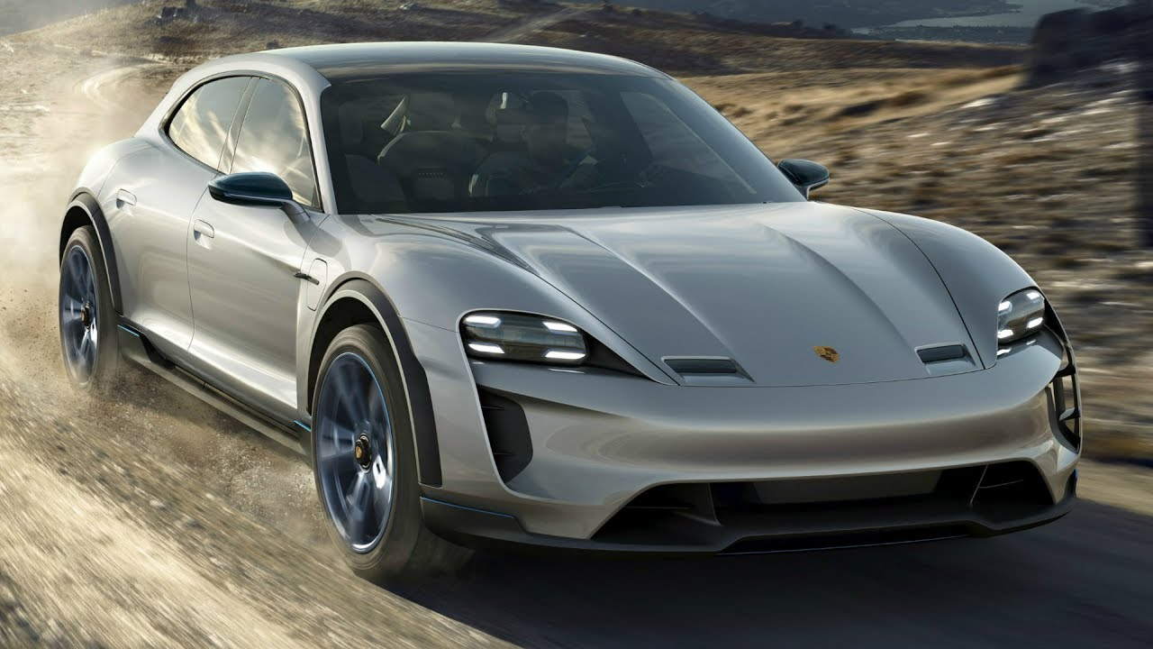 Porsche Mission E Cross Turismo First Electric Utility Vehicle Cuv From