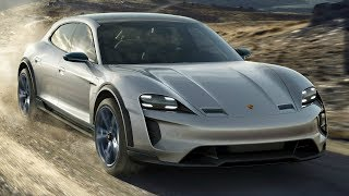 Porsche Mission E Cross Turismo - First Electric Cross-Utility Vehicle (CUV) from Porsche
