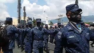 Desfile militar 15 de septiembre 2017 parte #3 EL SALVADOR.