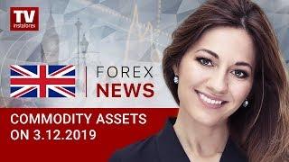 InstaForex tv news: 03.12.2019: RUB has little chances to grow  (Brent, USD/RUB)