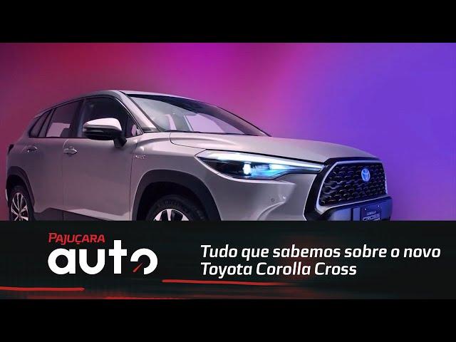 Lançamento: Tudo que sabemos sobre o novo Toyota Corolla Cross