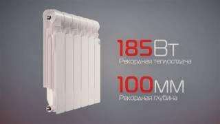видео Секционный биметаллический радиатор RoyalThermo BiLiner Inox 500 /6 секции/