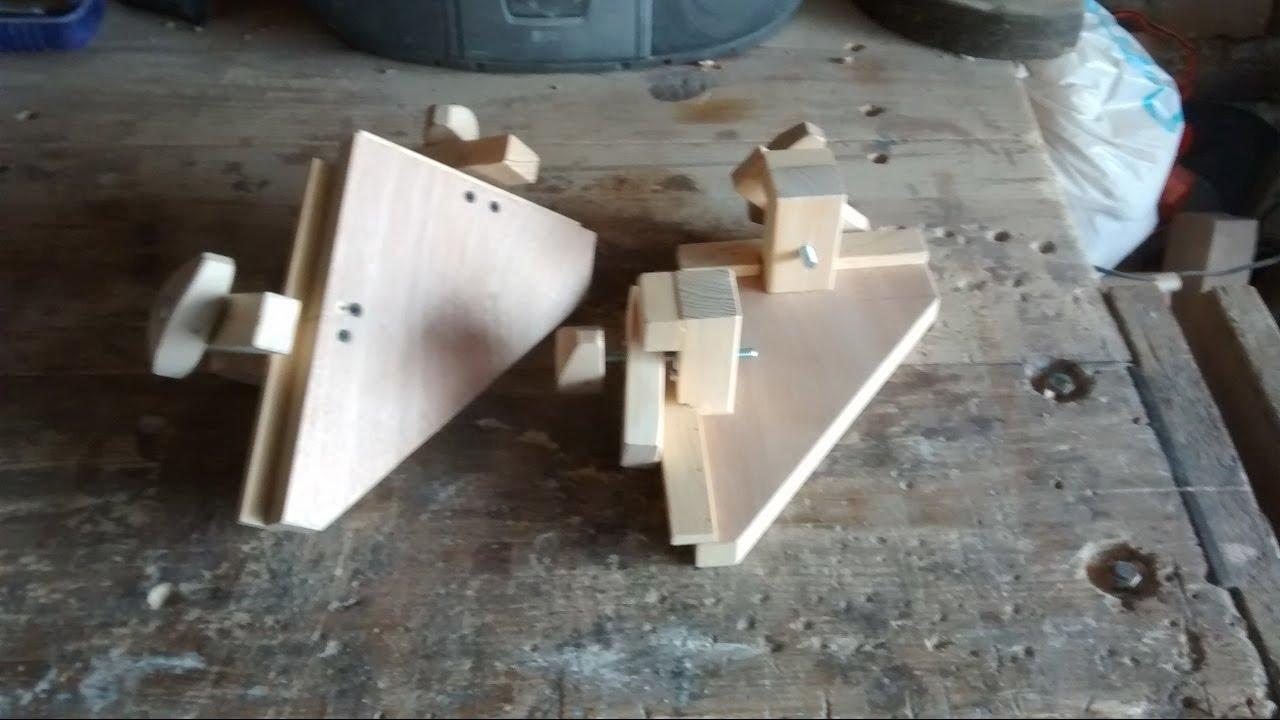 Como hacer unas prensas esquineras youtube - Como hacer cobertizo de madera ...