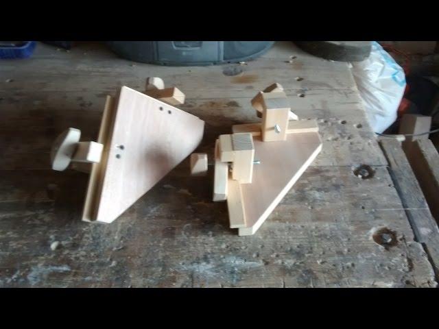 Como hacer unas prensas esquineras
