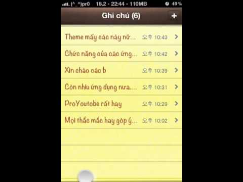 Ung dung cho iphone