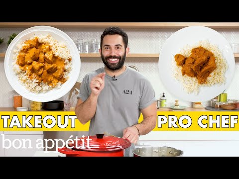 Pro Chef Tries to Make Chicken Tikka Masala Faster Than Delivery | Taking on Takeout | Bon Appétit
