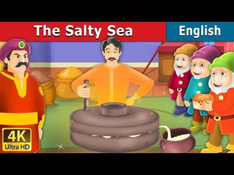 Salty Sea in English | Fairy Tales in English | English Story | Bedtime Stories| English Fairy Tales