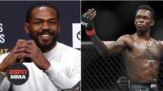 Jon Jones: Fight vs. Israel Adesanya would be a gigantic fight for UFC | ESPN MMA