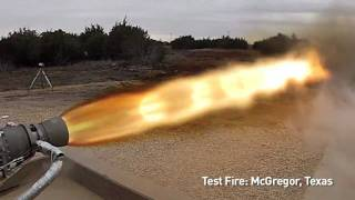 SpaceX Testing - (Alternate Version) SuperDraco Engine