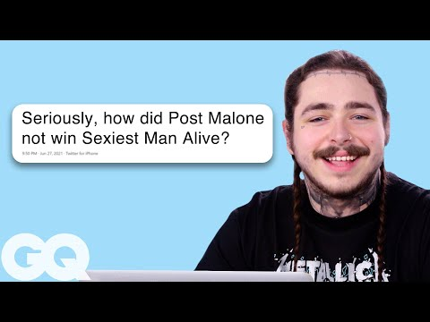 Post Malone Goes Under on Twitter, Facebook, Quora, and Reddit  GQ