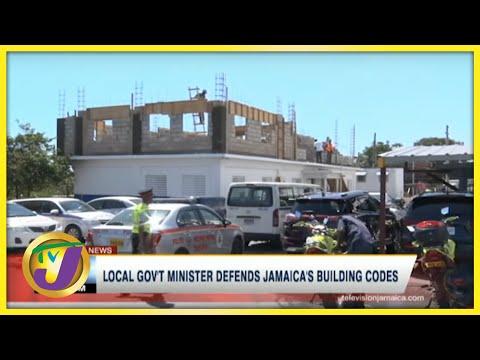 Local Gov't Minister Defends Jamaica's Building Codes | TVJ News - June 26 2021