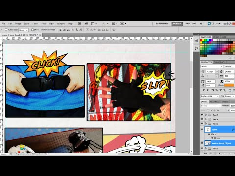 Make a Comic Book Intro in After Effects | Design