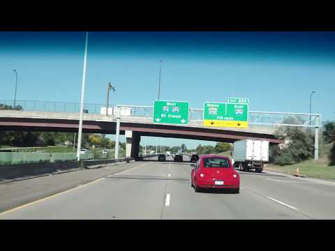 Driving From Minneapolis, MN To Fargo ND Via I94