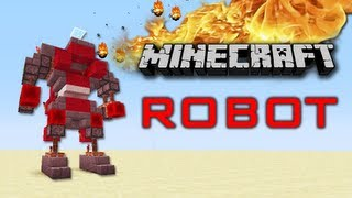 Minecraft Robot now with extra Craziness !!! ( Update and Tutorial ) Thumbnail