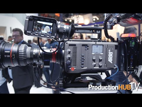 ARRI showcases Cinema Cameras & Support Solutions at IBC 2016