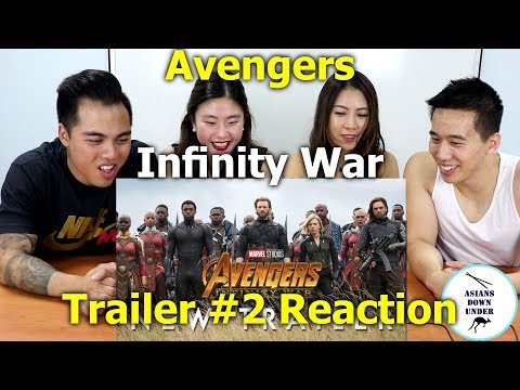 Marvel Studios' Avengers: Infinity War - Official Trailer 2 | Reaction - Aussie Asians