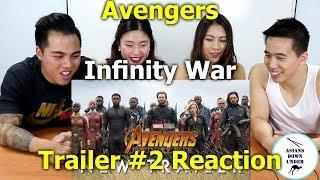 Marvel Studios' Avengers: Infinity War - Official Trailer 2 | Reaction - Aussie Asians