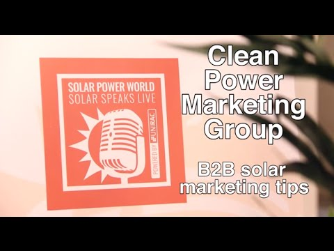 B2B solar marketing tips