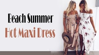 Best Sexy Boho style long maxi summer dress Review