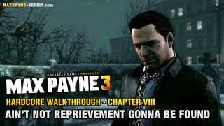 Max Payne 3 - Hardcore Walkthrough - Chapter 8 - Ain