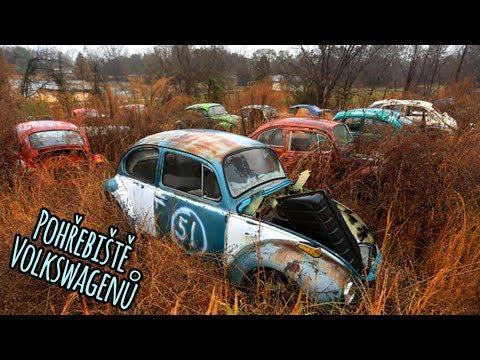 Pohřebiště Volkswagenů + 2x Golf Mk2 na díly