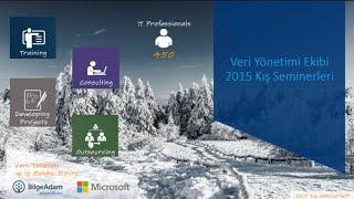 Veri Yönetimi Ekibi - Azure Üzerinde SQL Server 2014 Performans Ayarları