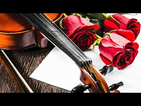 Beautiful Nature. Calm Relaxing Music for Stress Relief. Sad Romantic Violin