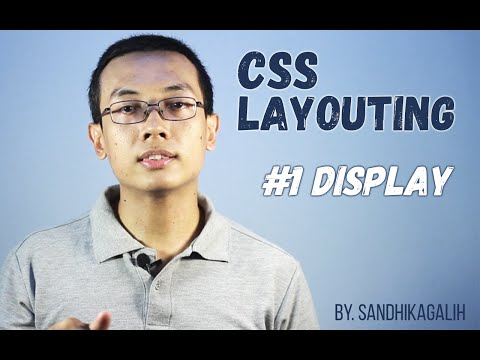CSS Layouting - #1 Display